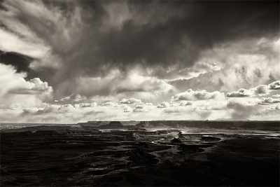 Storm Clouds Over Green River