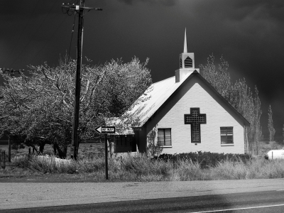 The Green Church By Hwy 395