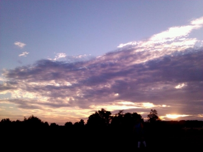 Country's Evening Sky