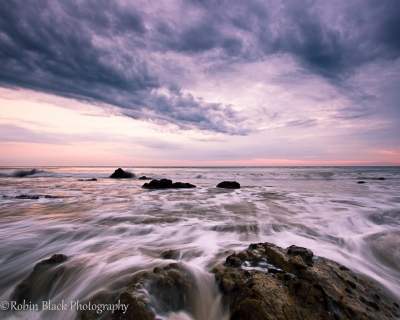 Monsoon Sunset, El Matador Beach