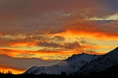 Chugach Sunset
