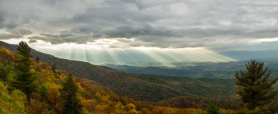 Shenandoah Valley Color And Light Show