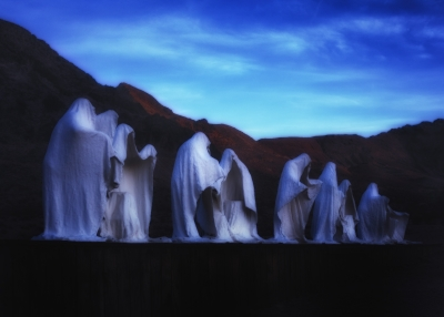 The Last Supper In Rhyolite