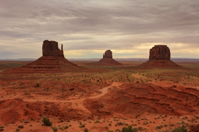 The Mittens And Merrick Butte – Monument Valley