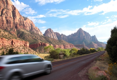 Road Trip Through Zion
