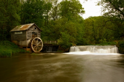 The Hyde's Mill In Wisconsin