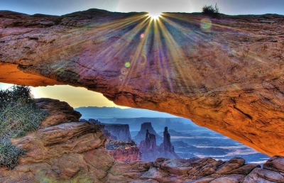 Mesa Arch-canyonlands National Park