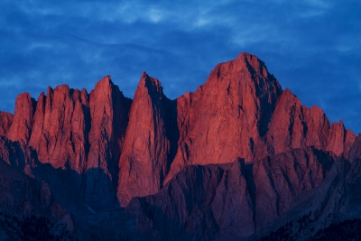 Sunrise At Mount Whitney