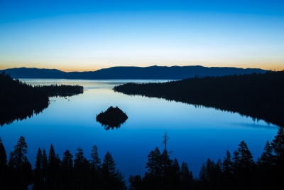 Blue Hour At Emerald Bay
