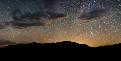 Light Pollution Over The Sangre De Cristo – Great Sand Dunes National Park, Colorado