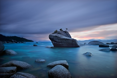 Storm Light At Lake Tahoe