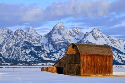 Teton Morning Colors