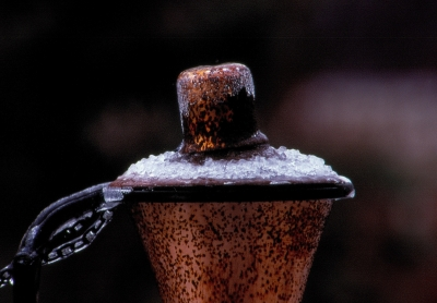 Sconce In Ice