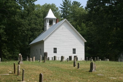 Old Church And Cemetary