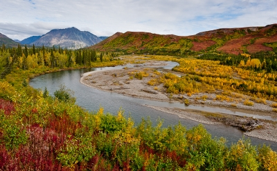 Change Of Color In Alaska.