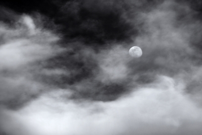 Moon In Sea Of Clouds