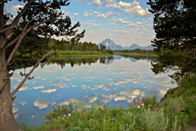 Puffy Clouds, Oxbow Bend