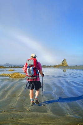 Backpacker And Fogbow