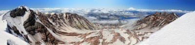 Mt St Helens Crater Panorama