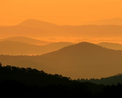 Great Smokey Sunrise