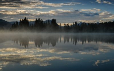 Misty Little Molas Lake