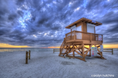 Lifeguard Tower On Anna Maria Island