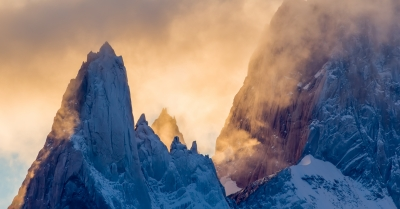 Clouds Passing Through Mt Fitzroy