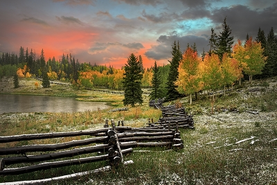 Owl Pass Autumn Sunset