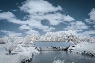 Bridges Of Madison County In Infrared