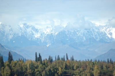 Denali In The Clouds