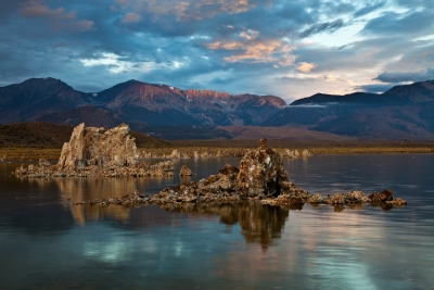 The Sierra Range From Mono Lake