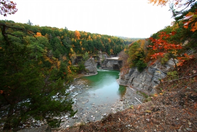 The Gorge At Letchworth