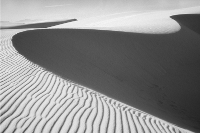 Shadow Patterns, White Sands National Monument