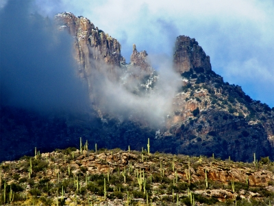 Finger Rock Fog