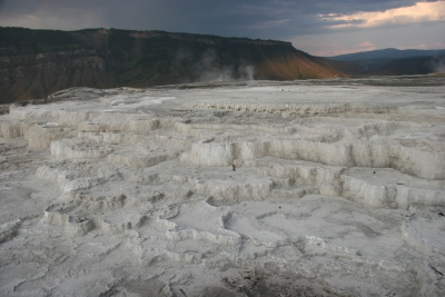 Yellowstone Mammoth Hot Spring