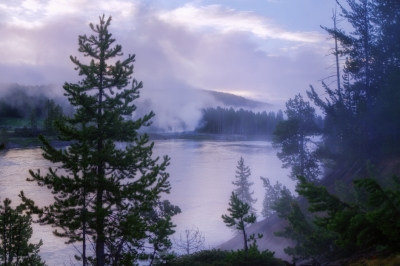 Yellowstone River Mist