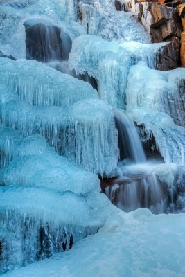 Sculpturesque Icefall