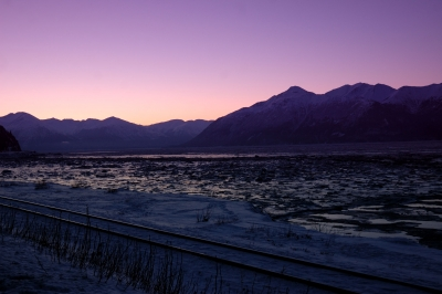Sunrise In Pink – Turnagin Arm