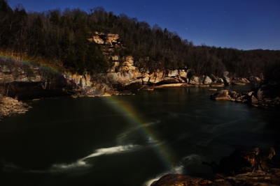 Moonbow Moonscape