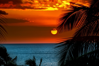 Sun Set Hawaii