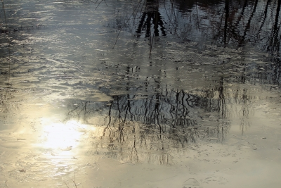 Ice Water Reflection