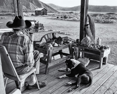 Ol Prospector And His Dog