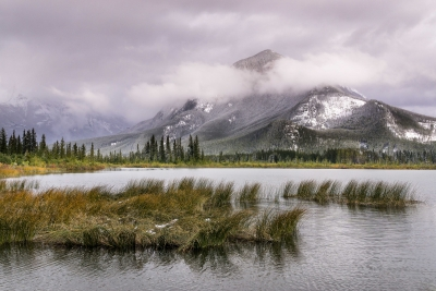 Mt. Rundle First Snow