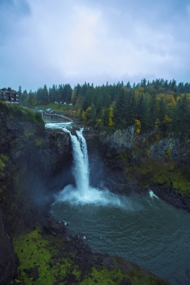 Late Fall At Snoqualmie Falls