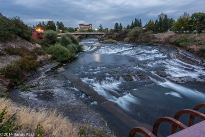 Spokane River Night