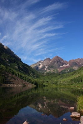 Summer At Maroon Bells
