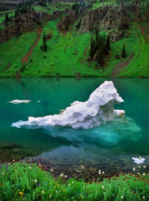 Blue Lake Iceberg