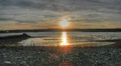Sunset Scituate Harbor