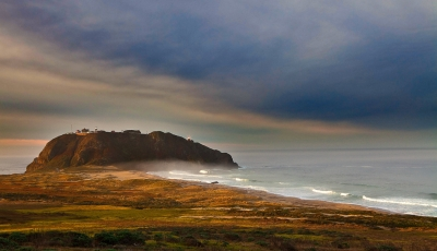 California, Big Sur Coastline, Sunrise
