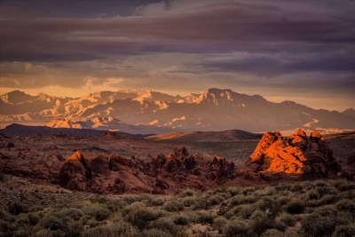 Sunset In Valley Of Fire